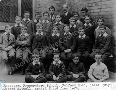 Pupils at Scarborough Boys School